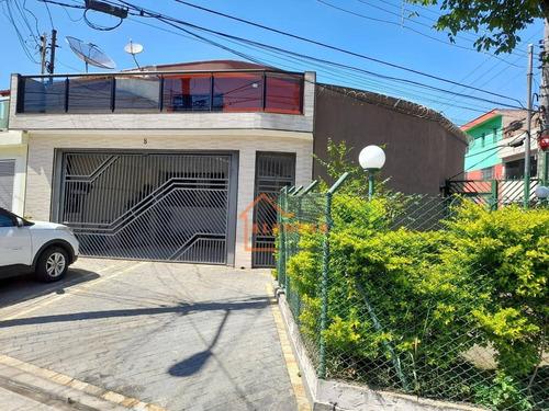 Sobrado Com 3 Dormitórios À Venda, 200 M² Por R$ 911.000,00 - Vila Nhocune - São Paulo/sp - So0436
