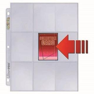 Micas Para Cards De Bolsillo Lateral Ultra Pro Premium X 10