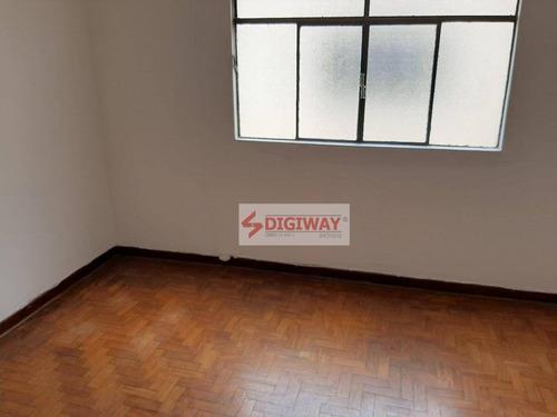 Imagem 1 de 7 de Apartamento Com 1 Dormitório Para Alugar, 50 M² Por R$ 1.100,00/mês - Cambuci - São Paulo/sp - Ap1955
