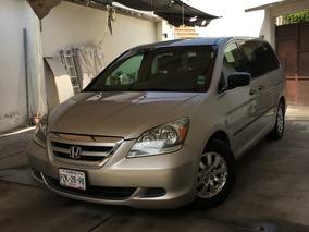 Honda Odyssey 3.5 Lx Minivan Automatica Gris Plata