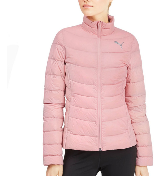 Campera Puma Mujer Packlite 600 Down Jacket Rosa - Pluma