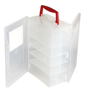 Organizador Plastico De Doble Tapa Transportable Fury 30-600