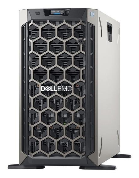 Servidor Dell T340 Xeon E2124/16gb/2x 1tb/idrac9