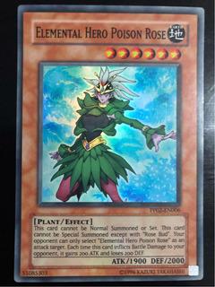 Elemental Hero Poison Rose (super Rare) / Yugioh!