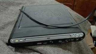 Reproductor Dvd Spica Slim C/control Y Karaoke
