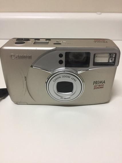 Câmera Cânon Bf-800 Com Zoom - Analógica - Raridade