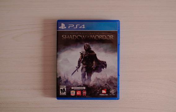 Jogo Shadow Of Mordor Ps4 Usado