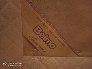 Sommier Belmo 1 Plaza Y Media. 1.40x190