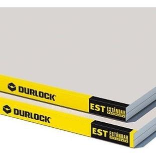 Placa Durlock Standar Reforzada 12,5 Mm 1,20 X 2,40 Mts