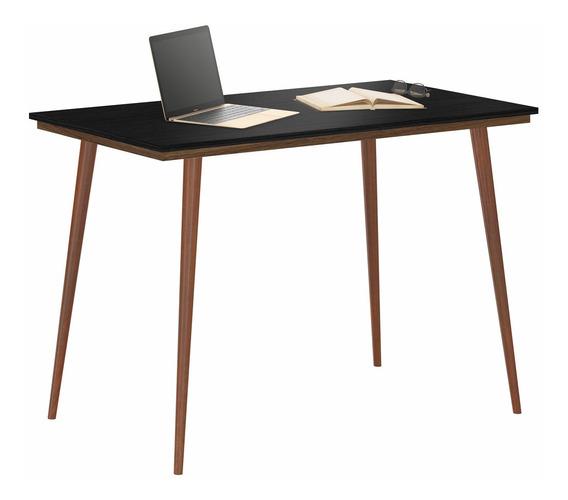 Mesa Bancada Retro Para Quarto Escritório Home Office 120cm