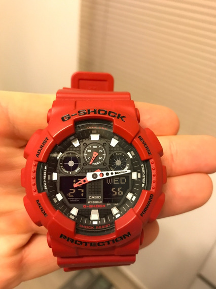 Relógio G-shock Ga-100b Seminovo