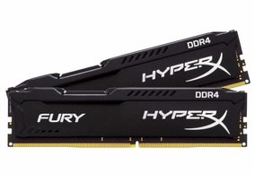 Memória 32gb (16gb X 2) Ddr4 3200mhz Kingston Hyperx Fury