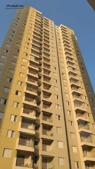 Apartamento De 49 M² Com 2 Dormitórios E 1 Vaga De Garagem Coberta Próximo Ao Metrô Carrão- Tatuapé- São Paulo - Ap4110