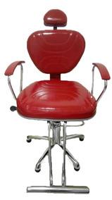 Poltrona Laca Reclinável Cadeira Cabeleireiro Estética Salão
