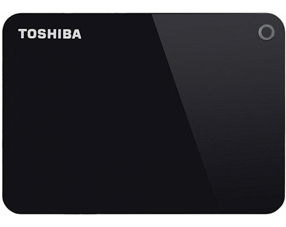 Hd Externo Portátil Toshiba Canvio Advance 2tb Usb 3.0 Preto