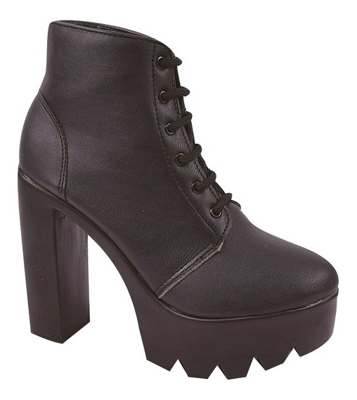 Bota Coturno Sapato Feminino Chiquiteira Chiqui/4105