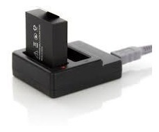 Carregador De Bateria + 2 Bateria Extra Xtrax Evo