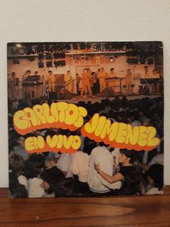 Carlitos Mona Jimenez Vivo 86 Lp Vinilo