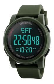 Relógio Masculino Esport Militar Skmei 1257 Original Barato