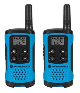 Rádio Comunicador Motorola T100br- À Pilha - Novo - Original