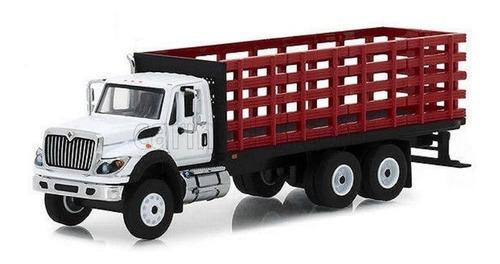 International Camion Dobletroque Estacas Escala 16 Coleccion