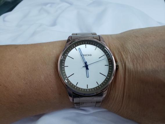 Relógio Unissex Marca Touch - Metal Rose- 17 Cm