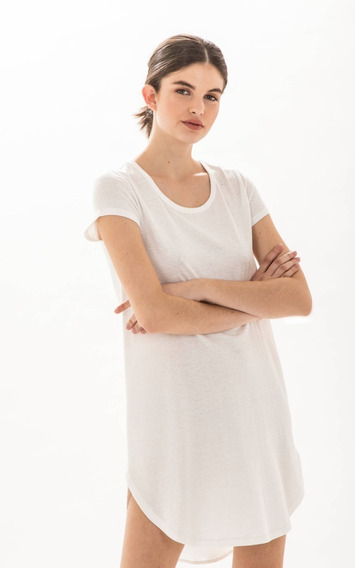 Vestido Paula Cahen Danvers Juanita Negro Off White