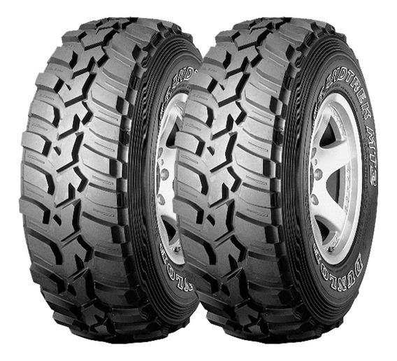 Kit X2 275/65 R16 Dunlop Grandtrek Mt2 + Tienda Oficial