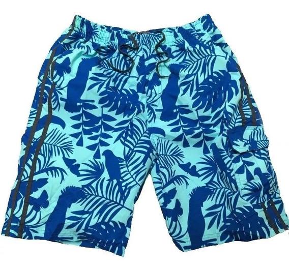 Short Playa Bermuda Caballero Tropical Ml044434f