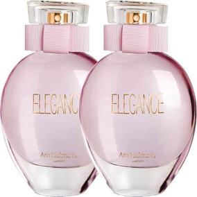 02 Perfumes Ana Hickmann Elegance 2x50ml Original