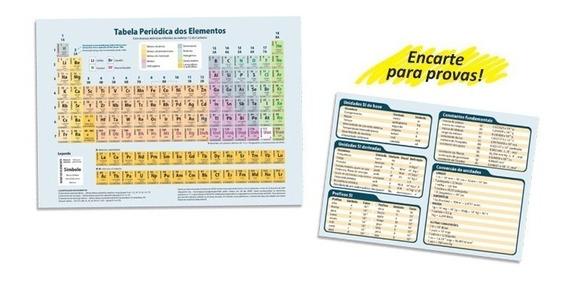 10 Tabela Periódica Elementos Químicos Plastificada 21x30cm