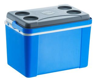 Caixa Térmica Cooler Cerveja 58 Latas Praia Lavita 34 L Azul
