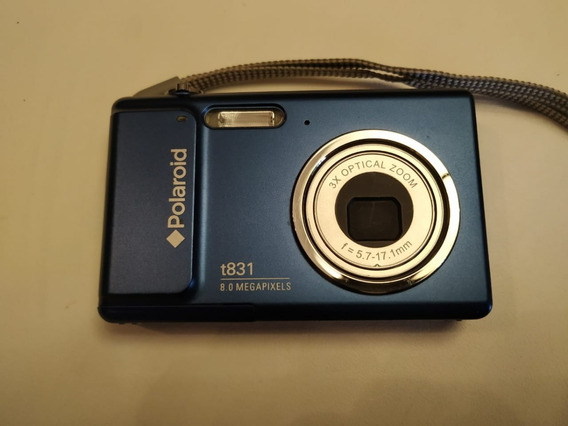 Cámara Fotos Digital Marca Polaroid 8mp Modelo T831 Zoom 3x