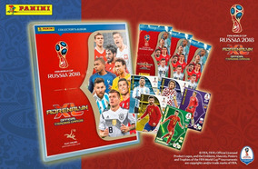 Cards Panini Copa 2018 Pasta Adrenalyn Completa 468 Cards