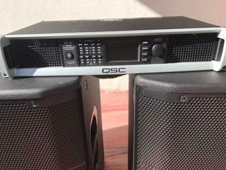 Amplificador Potencia 4 Ch Qsc Pld 4.2 400w 4ohm
