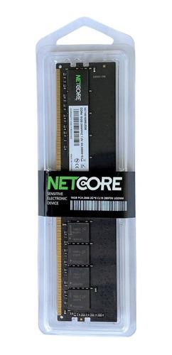 Memória Ram 1x8gb 2666 Ddr4 Netcore Para Computador 8/2666