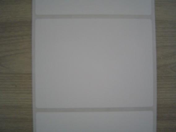 Etiqueta Adesiva 100x75mm Couché - Argox / Elgin L42 / Zebra