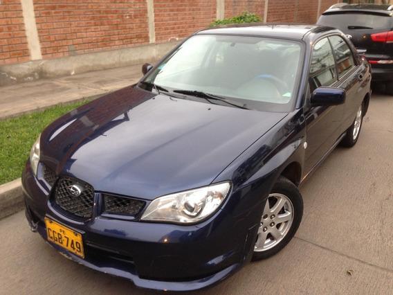 Subaru Impreza Motor 1.6 At Awd Azul Perlado Sedán 4 Puertas