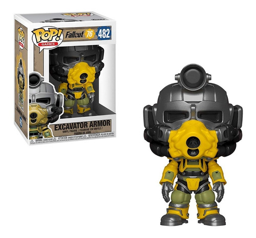 Funko Pop Fallout 76 Excavator Power Armor
