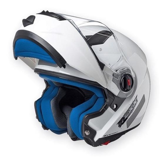Capacete Moto Feminino Articulado Texx Dv Smart Robocop
