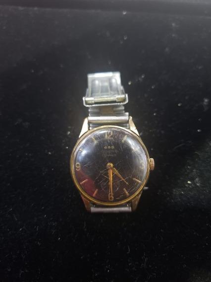 Relógio De Pulso Antigo De Coleção Olvino Geneve A Corda