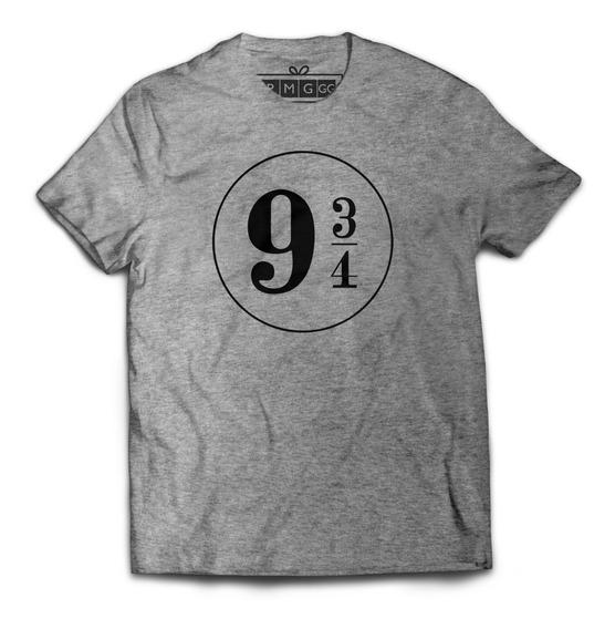 Camiseta Harry Potter Plataforma 9 3/4 Hogwarts Express Nove