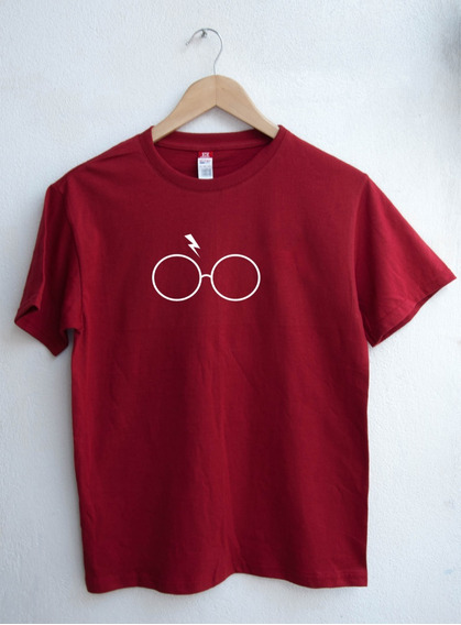 Playera Unisex Lentes De Harry Tumblr