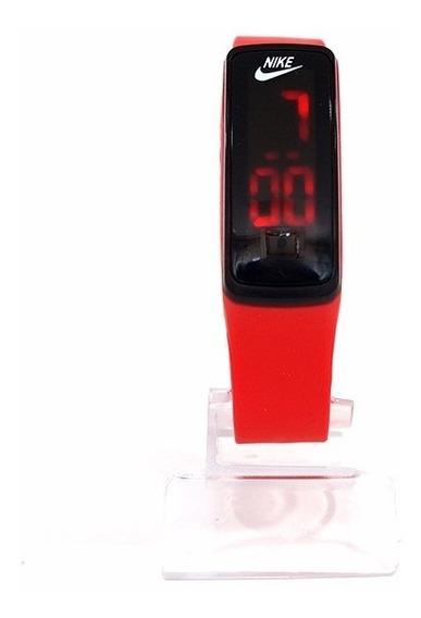 Relógio Nike Led Watch Vermelho - Preço Barato!
