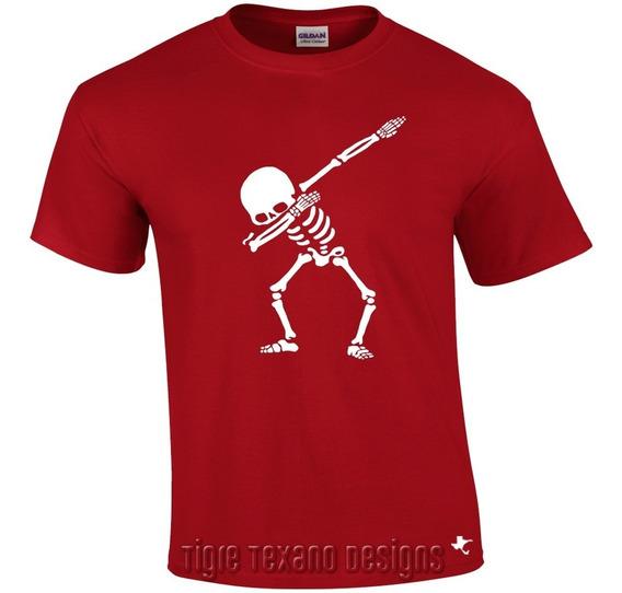Playera Fun Dab Esqueleto Skull By Tigre Texano Designs