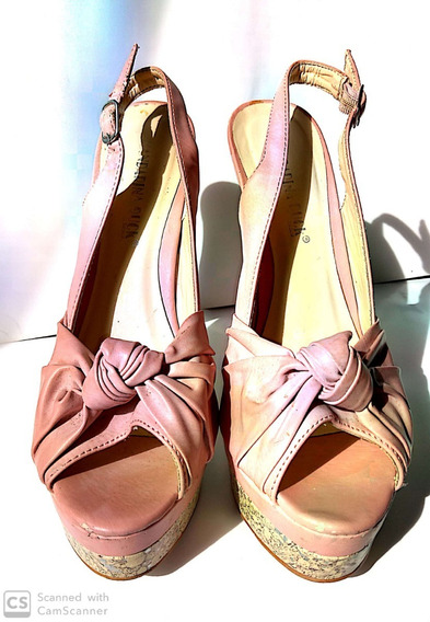 Zapatos Tacón Altos De Dama