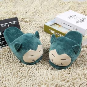 Pantufa Snorlax - Pokémon Go - Chinelo De Dormir