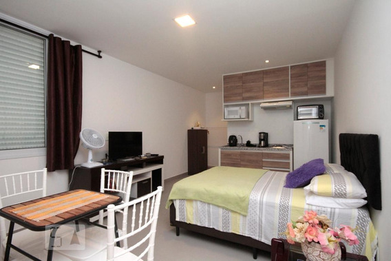 Apartamento Para Aluguel - Santa Cecília, 1 Quarto, 29 - 893107733
