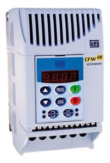 Inversor De Frequência Cfw08 2cv 7,3a 220v Weg Trifásico