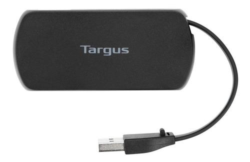 Targus Ach214, Hub De 4 Puertos Usb 2.0 / Diseño Compacto